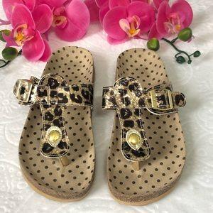 The Children's Place Leopard Print Sandals
